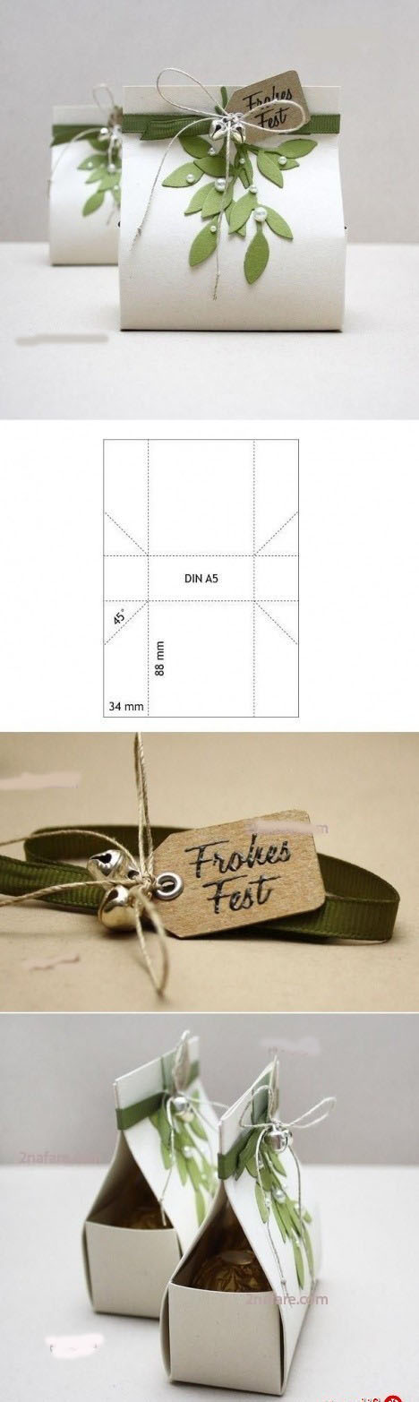 ساختن جعبه کادو ی زیبا ویژه ولنتاین  تصاویر