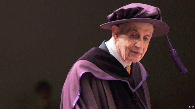 جان فوربز نش استاد ریاضی دانشگاه پرینستون