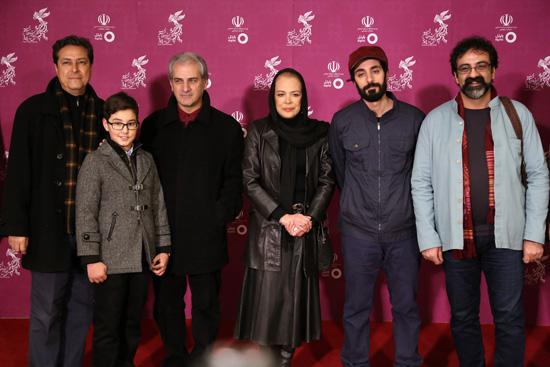 بازیگران در نشست خبری فیلم برادرم خسرو در جشنواره فجر