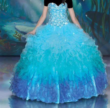 مدل لباس نامزدی پرنسسی  تصاویر