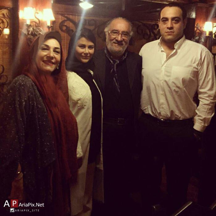 عکس های یاسمینا باهر و همسرش بازیگر نقش سحر