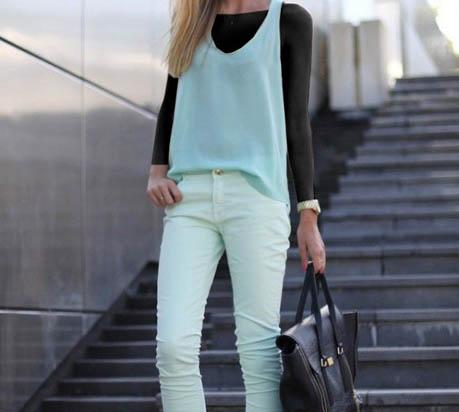 اصول ست کردن رنگ های لباس و شیک پوشی تصاویر