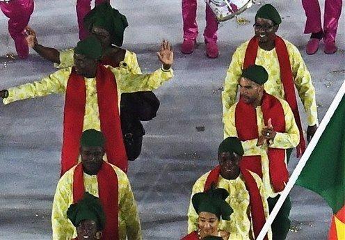 لباس بنین در المپیک ریو 2016