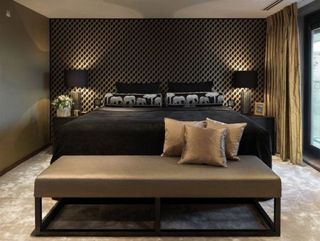 دکوراسیون و چیدمان اتاق خواب های مدرن  تصاویر