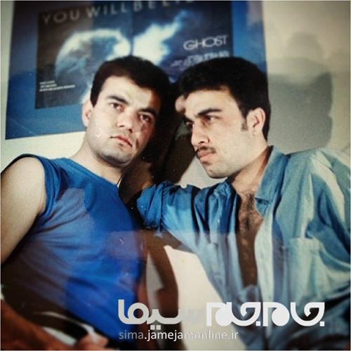 رضا عطاران و سعید آقاخانی در 22 سال پیش