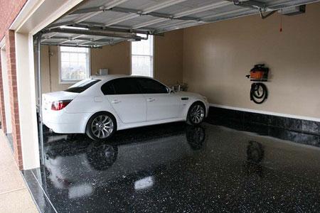 کفپوش پارکینگ خانه و گاراژ با طراحی بسیار شیک  تصاویر