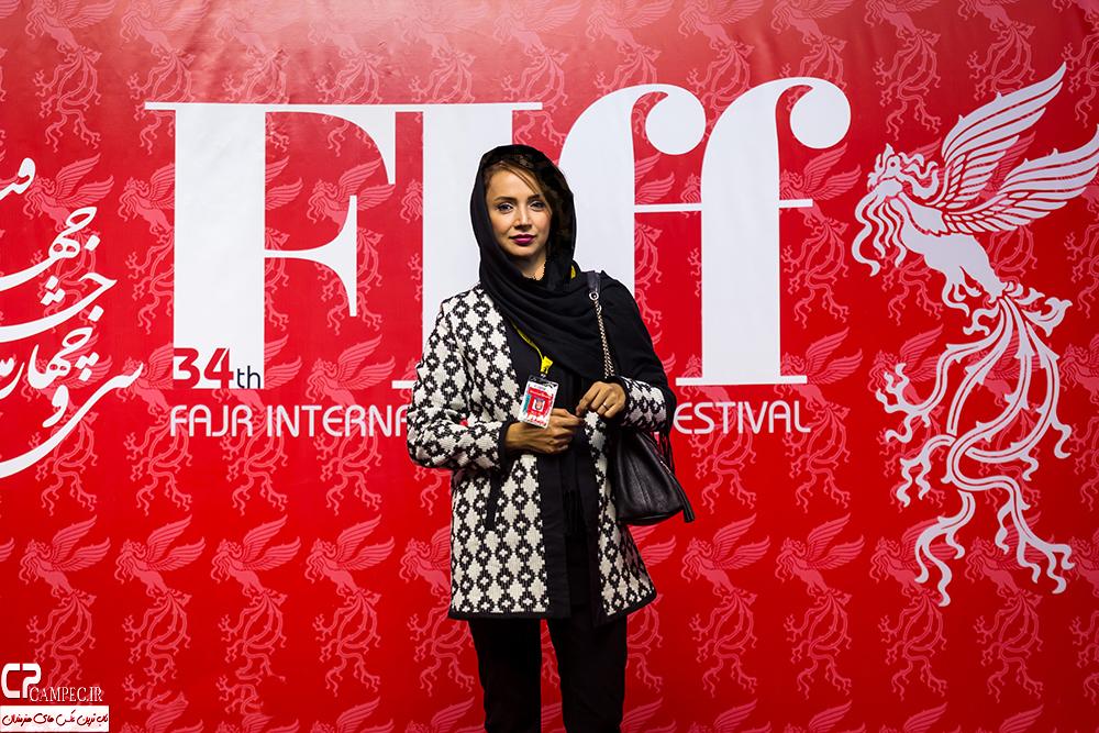 عکس های هنرمندان مشهور در سی و چهارمین جشنواره جهانی فیلم فجر