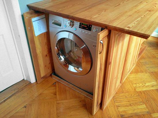 دکوراسیون آشپزخانه ای با کمترین فضا