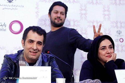 شوخی عجیب حامد بهداد با باران کوثری در جشنواره فیلم فجر 34