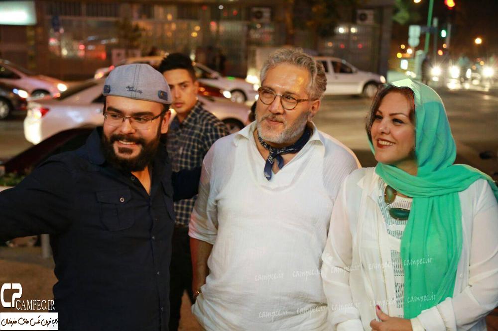 نگار جواهریان در اکران مردمی فیلم قندون جهیزیه