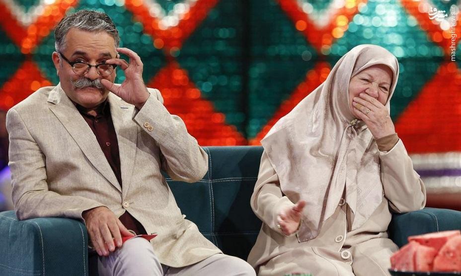 امیرشهاب رضویان و مادرش در برنامه خندوانه! تصاویر
