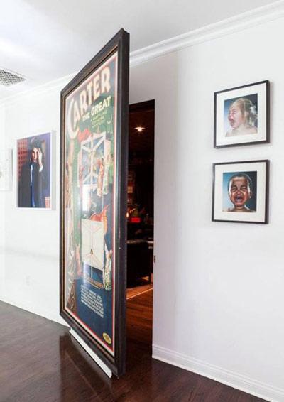 رازهای مخفی کردن درب های اضافی در دکوراسیون داخلی  تصاویر