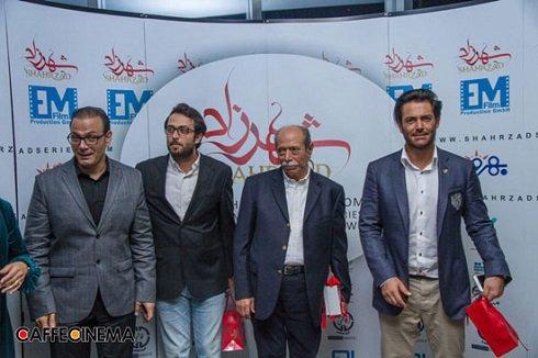 محمدرضا گلزار و بازیگران سریال شهرزاد در فرش قرمز تصاویر
