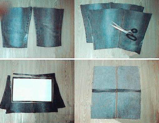 آموزش درست کردن کیف بسیار شیک با شلوارجین