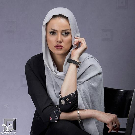 عکس ها و زندگینامه سهیلا هادی زاده بازیگر زن با دخترش