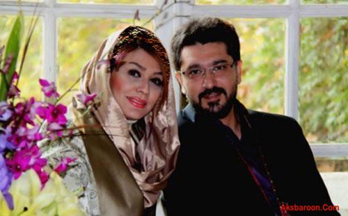 عکس : امیرحسین مدرس و همسرش