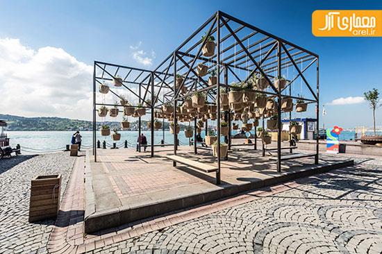 طراحی 6 سازه خلاقانه در فضای شهری