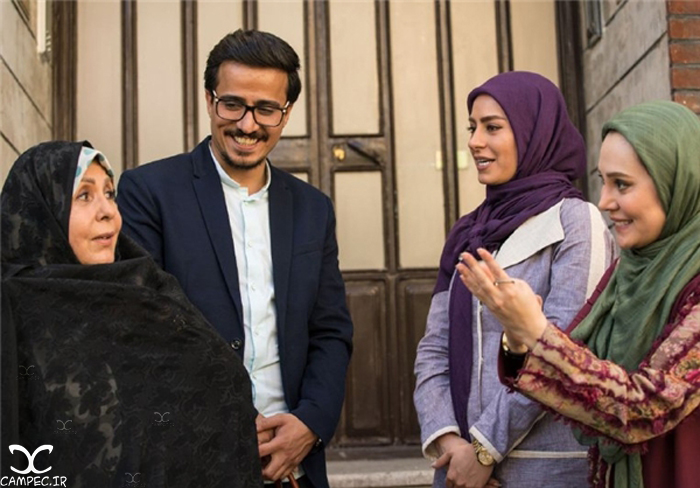 عکسهایی از بازیگران و خلاصه داستان سریال همسایه ها تصاویر