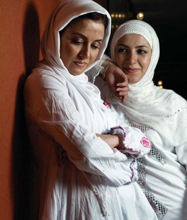عکس متفاوت و دونفره از مریلا زارعی و خواهرش ملیکا !