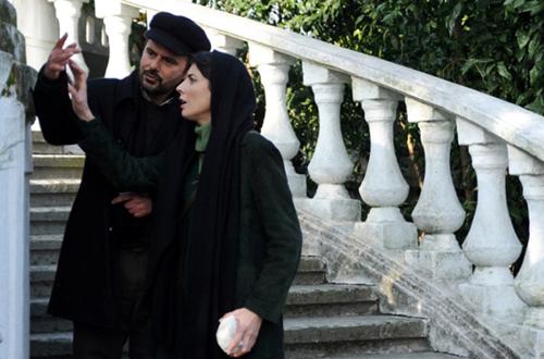ارتباط حسی بین لیلا حاتمی و علی مصفا در فیلم عاشقانه شان