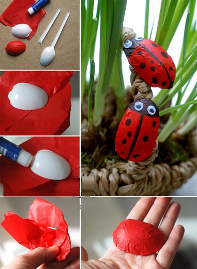 آموزش ساخت عروسک با قاشق بسیار ساده و زیبا تصاویر