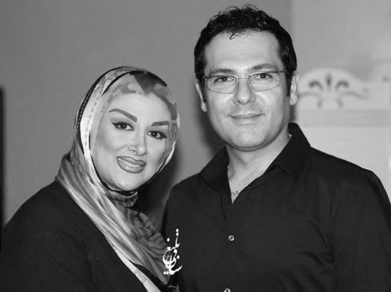 کوروش تهامی در کنار همسرش! عکس