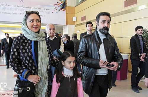 تیپ های متفاوت بازیگران در روز دوم جشنواره سی و سوم فیلم فجر