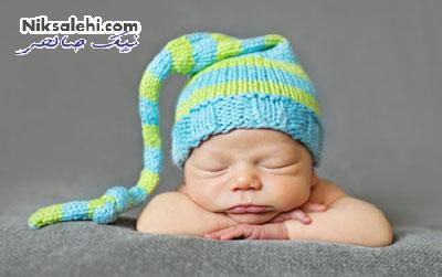 تصاویرجدید و بانمکی از ژست های نوزادان