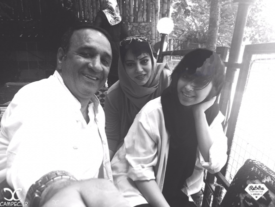 عکس های جدید حمیرا ریاضی و همسرش علی اسیوند به همراه دخترشان