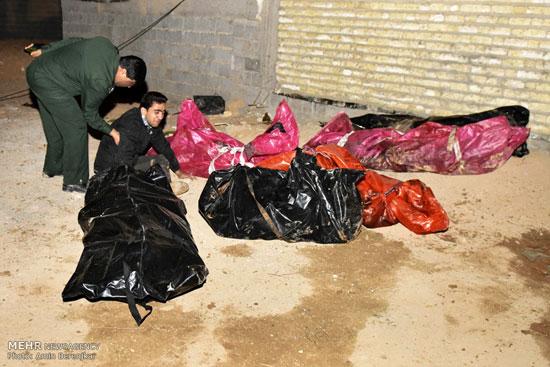 عکسهایی جدید از سانحه سقوط بالگرد در شیراز! تصاویر