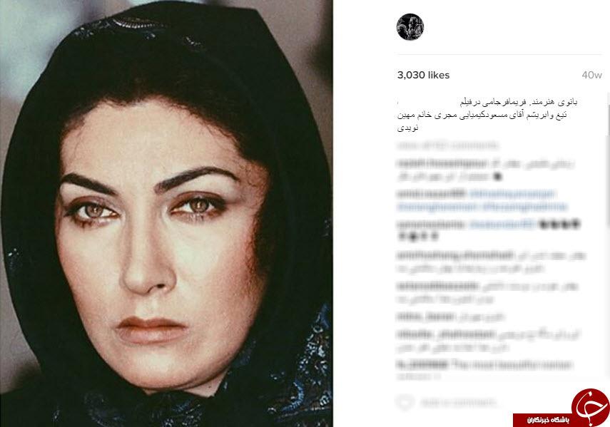 گریم های به یاد ماندنی بازیگران ایرانی در شبکه اجتماعی عبدالله اسکندری