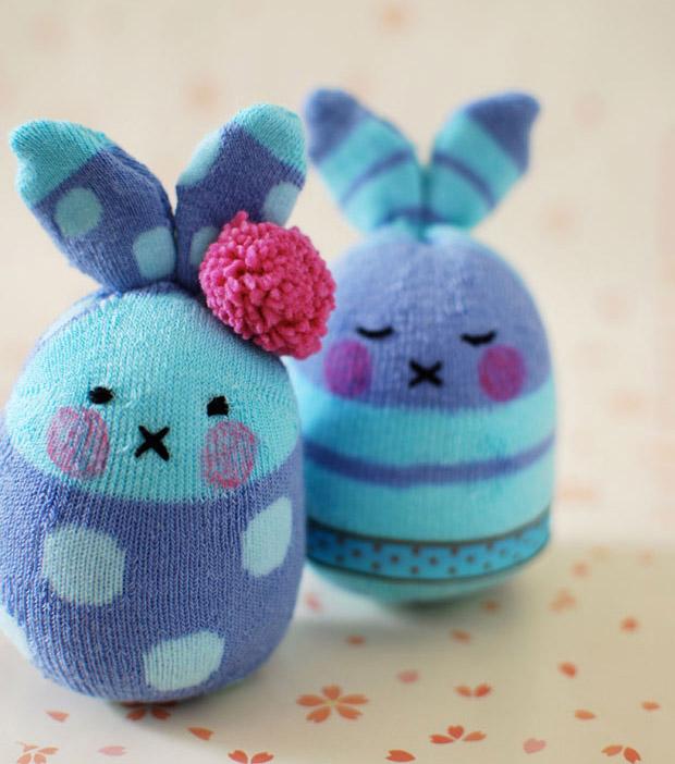 آموزش ساخت عروسک خرگوش زیبا با وسایل ساده
