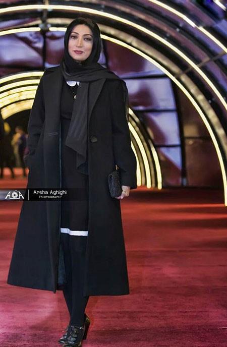 خانم های بازیگر خوش تیپ جشنواره سی و چهارم فجر تصاویر