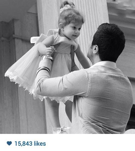 جدیدترین عکسهای شاهرخ استخری و دخترش پناه تصاویر