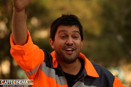 حامد بهداد در مبارزه با آشغالزایی!  عکس