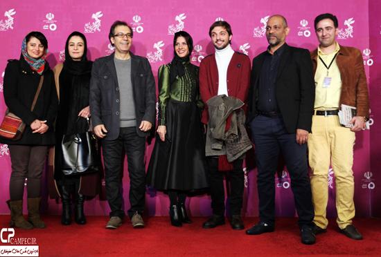 عکس های مراسم فرش قرمز فیلم گیتا با حضور بازیگران