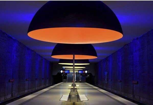 معماری بی نظیر ایستگاه های مترو