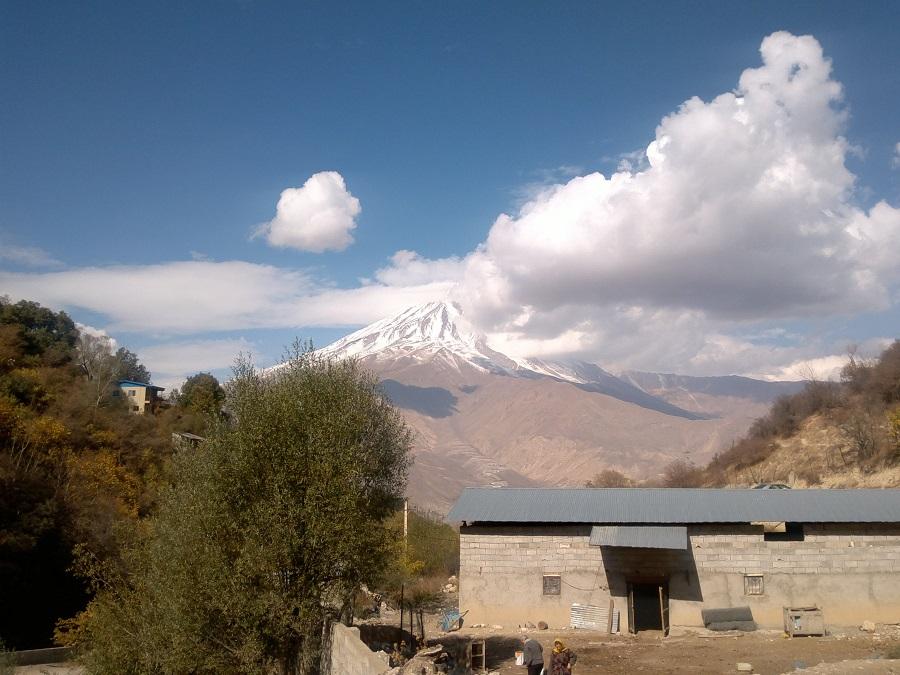 روستای نوا پنجره رو به دماوند را حتما ببینید تصاویر
