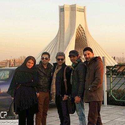 جدیدترین تصاویر سیما خضرآبادی و فاطمه گودرزی بازیگران سریال جاده چالوس
