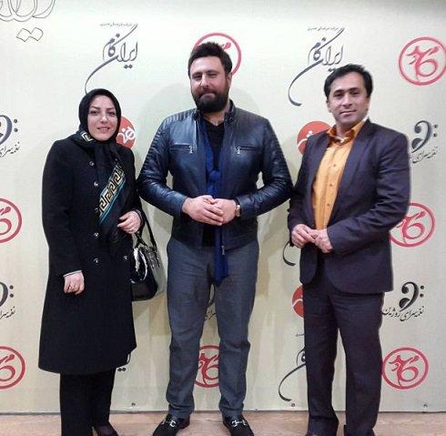 داوود عابدی و همسرش المیرا شریفی مقدم تصاویر