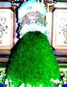 آموزش ساخت سبزه به شکل عروسک برای نوروز95 تصاویر