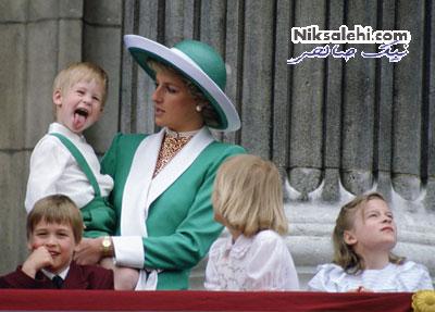 تصاویری از دوران کودکی خانواده سلطنتی بریتانیا