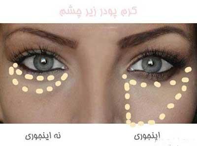 روش صحیح آرایش چشم و ابرو را بدانید تصاویر