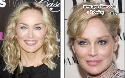 تصاویری از تغییر چشمگیر ستاره های زن پس از کوتاهی مو عکس