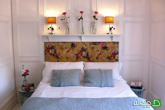 ۱۰ دکوراسیون اتاق خواب سفید برای خانه ای سرزنده!