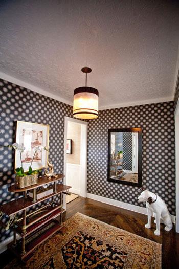 استفاده از طرح خال خالی در دکوراسیون منزل  تصاویر