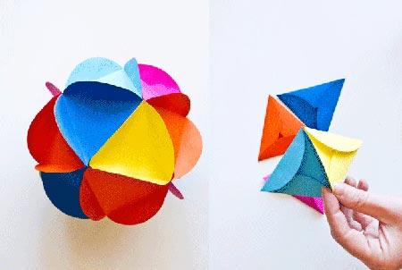 ساخت توپ تزئیینی برای دهه فجر تصاویر