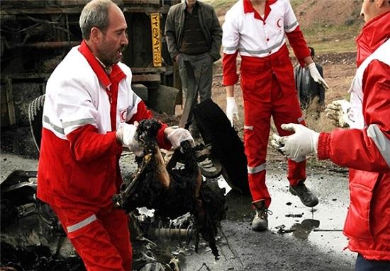 جزییات حادثهای تلخ و دلخراش در جاده سلماس