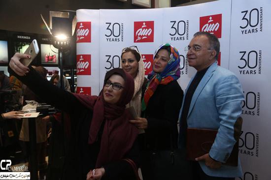 عکس های بازیگران زن در جشن 30 سالگی فروشگاه عطر میثم