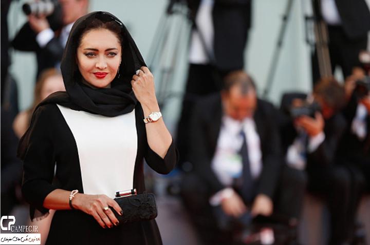 عکس های نیکی کریمی در اختتامیه جشنواره ونیز